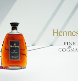 Boire du Cognac de Hennessy