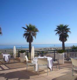 Chercher l'hôtel des Flamants roses à Canet en Roussillon