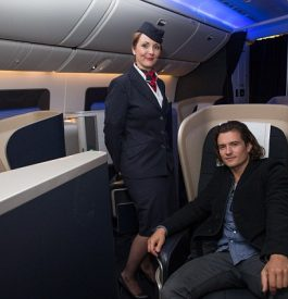 Prendre l'avion avec Orlando Bloom