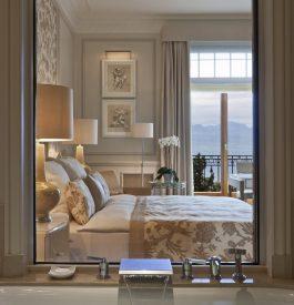 Rester au Beau Rivage hôtel à Lausanne