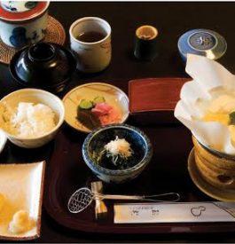 Une autre cuisine gastronomique à Kyoto au Japon