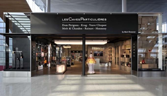 Une première boutique Moët Hennessy mondiale