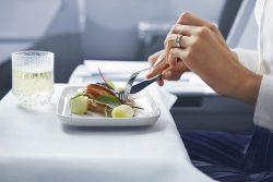 Menus de chefs avec Finnair