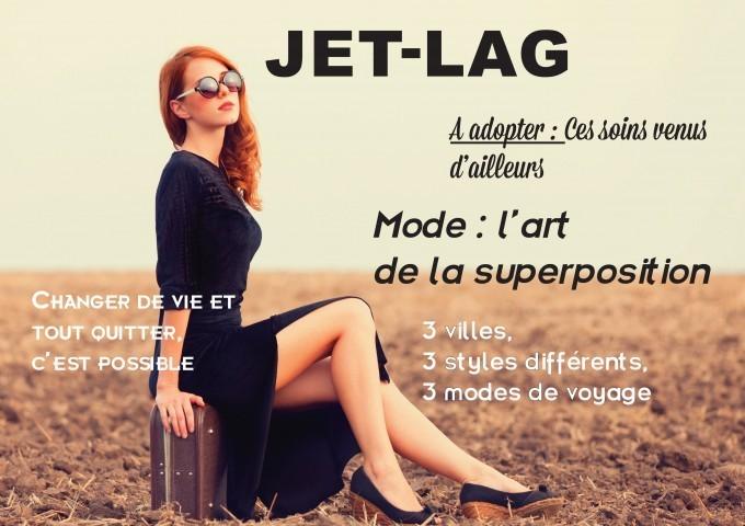 Jet lag, le nouveau magazine féminin du voyage