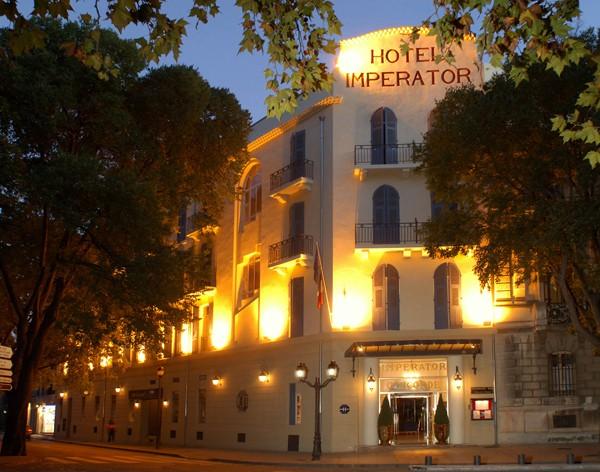 L'hôtel Imperator à Nîmes