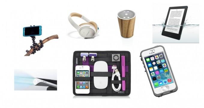 Liste de Noël : tech gadget pour voyageurs connectés