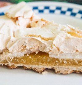 Préparer une tarte au citron meringuée sans gluten