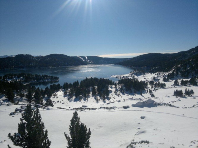 Ouverture de la station de sports de ski de Font Romeu