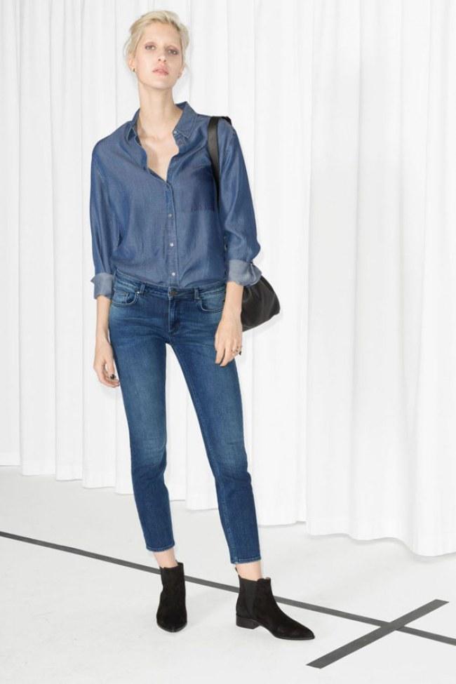 En voyage le jean l 39 option mode ind modable - Comment porter une chemise en jean femme ...