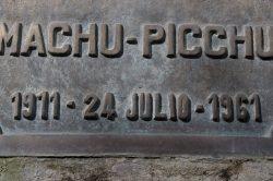 Ne pas oublier de faire tamponner son passeport avec le tampon du Machu Picchu