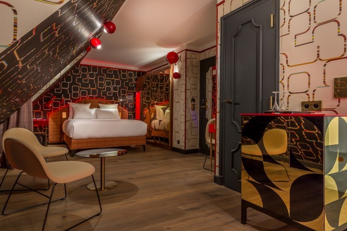 Voyage : L'Idol Hotel à Paris