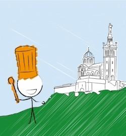 GlobeKid emmène les juniors cuisiner à Marseille