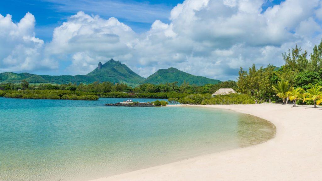 Four seasons plage île Maurice