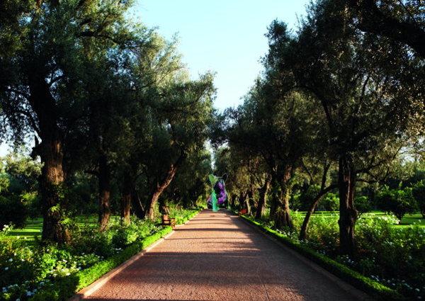Julien Marinetti au Mamounia Palace à Marrakech