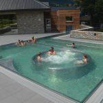 Les bains incas, le nouvel espace familial à Balnéa