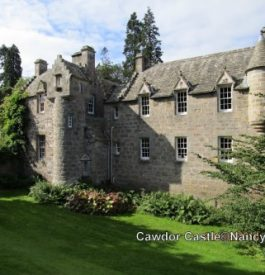 Rejoindre le Cawdor castle en Écosse