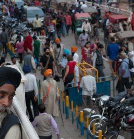 Arpenter New Delhi en Inde
