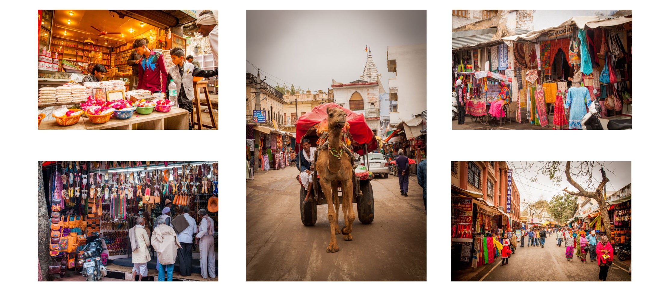 Voyage en Inde à Pushkar, Hippie City