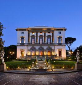 La villa Cora à Florence
