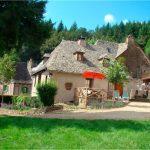 Aveyron : le gite du Cantomerlhe près de Conques