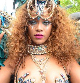 Ambiance au carnaval de la Barbade !