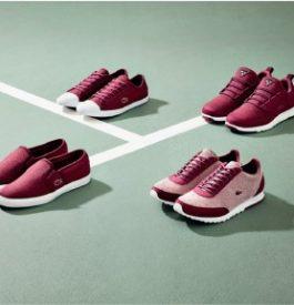 Collection 2015 de sneakers Lacoste