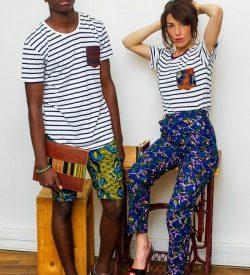 Pénétrer dans la boutique l'Afrique c'est chic à Paris