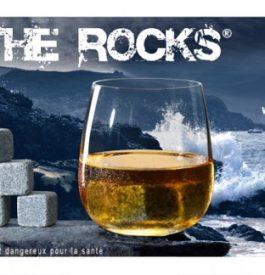Les glaçons en granit de On the rocks