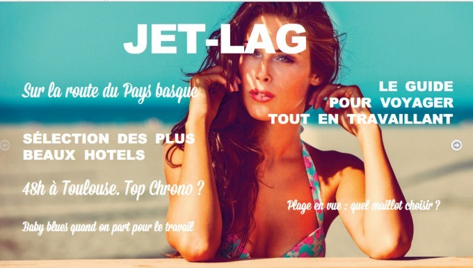 Jet lag magazine n°2 est sorti