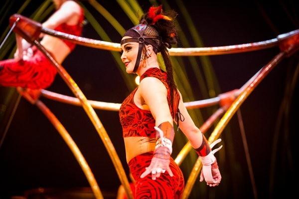 Spectacle magique du Cirque du Soleil à Portaventura