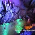 Au fond de la grotte de la Salamandre