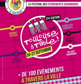 Toulouse se remet à table dès le 26 septembre