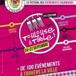 Toulouse se remet à table dès le 26 septembre