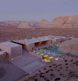 L'Amangiri hôtel perdu dans le désert...