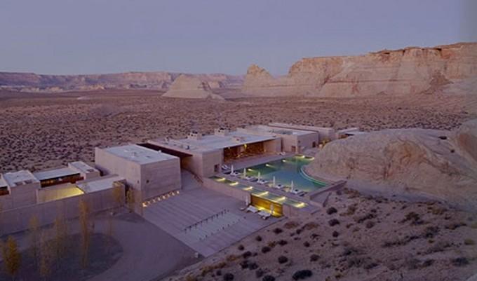 L'Amangiri hôtel - désert USA