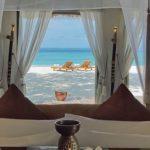 L'hôtel Banyan Tree Vabbinfaru aux Maldives