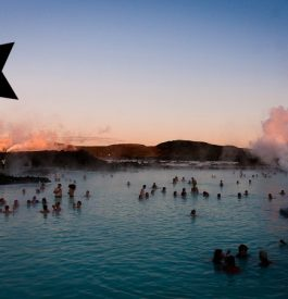 Direction le Blue Lagoon en Islande