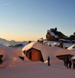 Rejoindre Avoriaz dans les Alpes