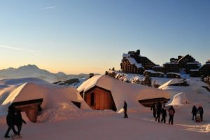 Station de ski à Avoriaz