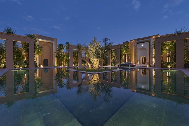 Bassins d'eau Mandarin Oriental Marrakech