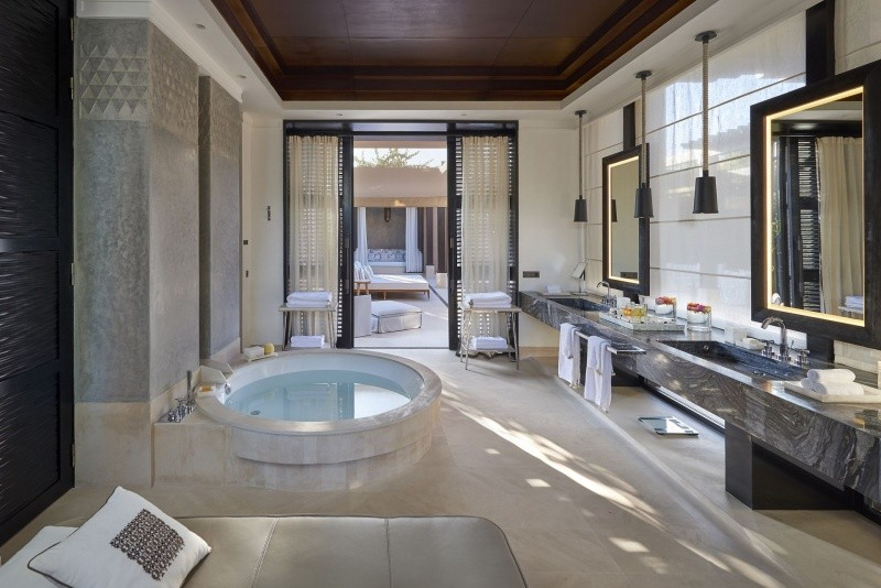 Salle de bain Mandarin Oriental Marrakech