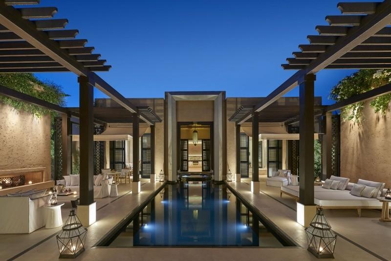 Entrée Mandarin Oriental Marrakech