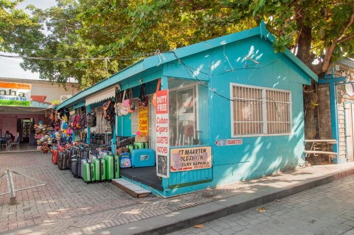 Les magasins - Saint Marteen - costa croisières