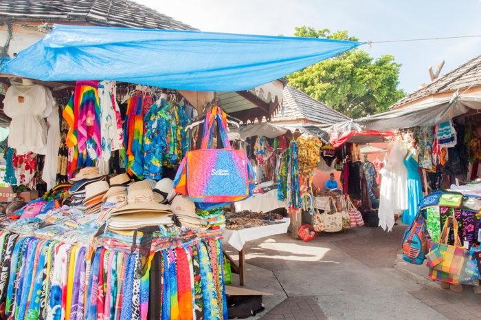 marché - saint marteen - costa croisières