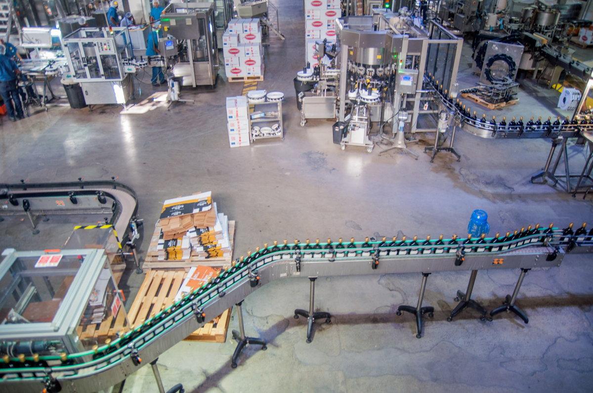 L'usine de fabrication de rhum - Ron Barcelo - costa croisières
