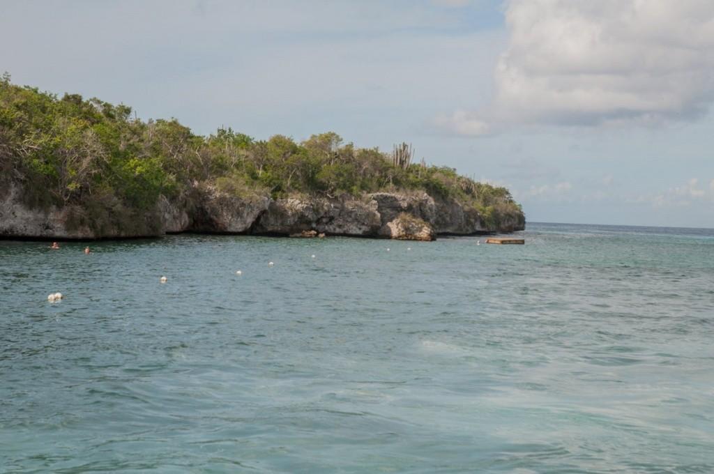 rochers - plongée - catalina beach - costa croisières