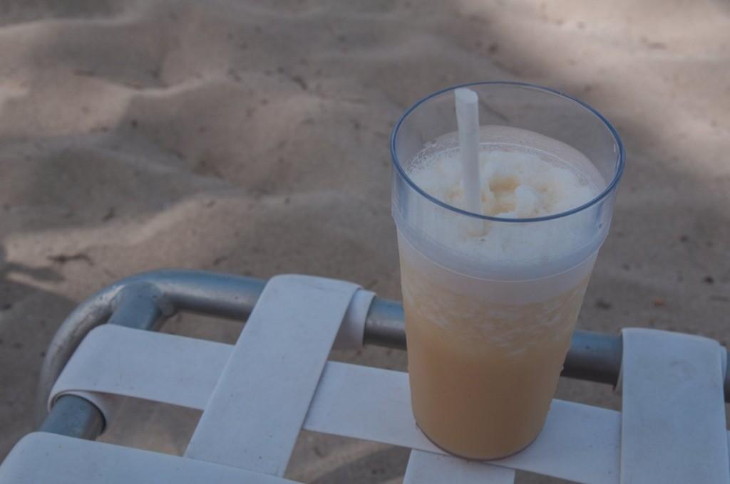 cocktail - plage - costa croisières
