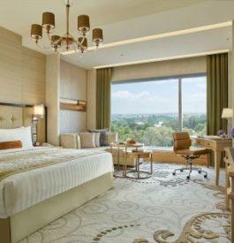 Visiter l'hôtel luxe Shangri la Bangalore en Inde