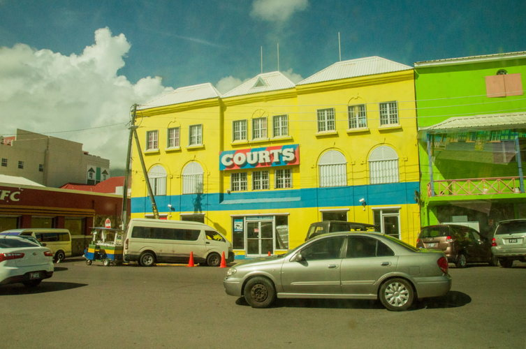 Le centre-ville de Saint Kitts