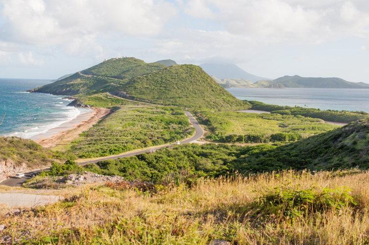 saint kitts vue- costa croisières - caraibes